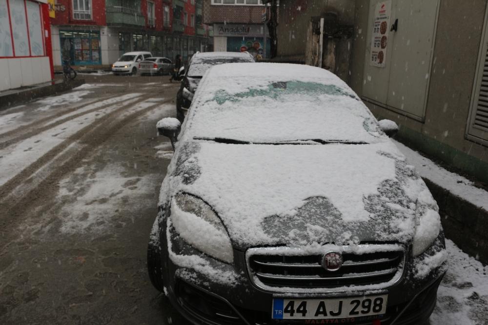 Ağrı'da kar yağışı etkili oluyor galerisi resim 3