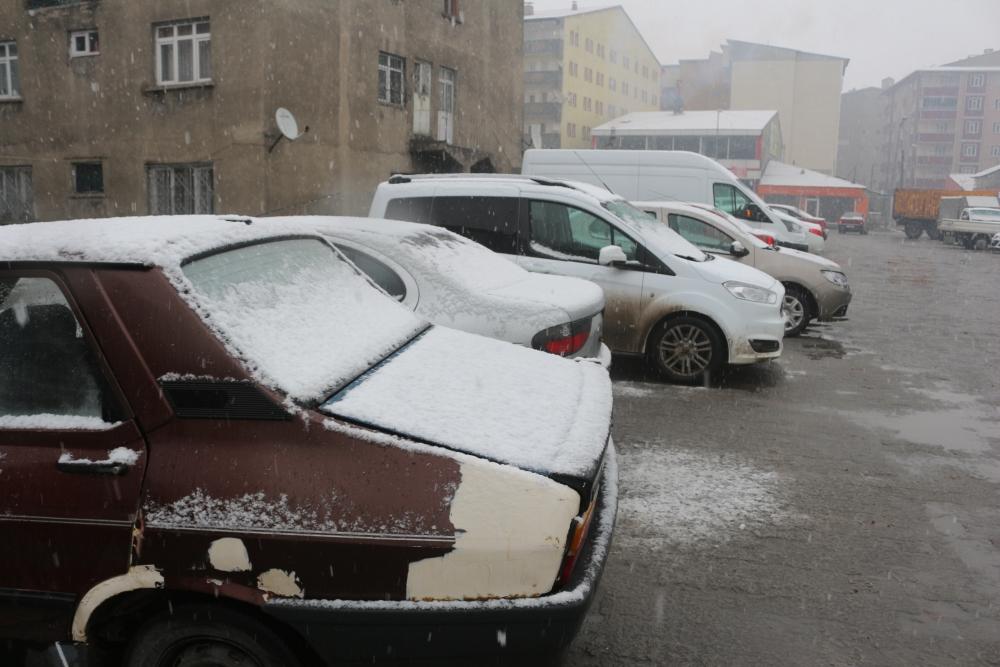 Ağrı'da kar yağışı etkili oluyor galerisi resim 5