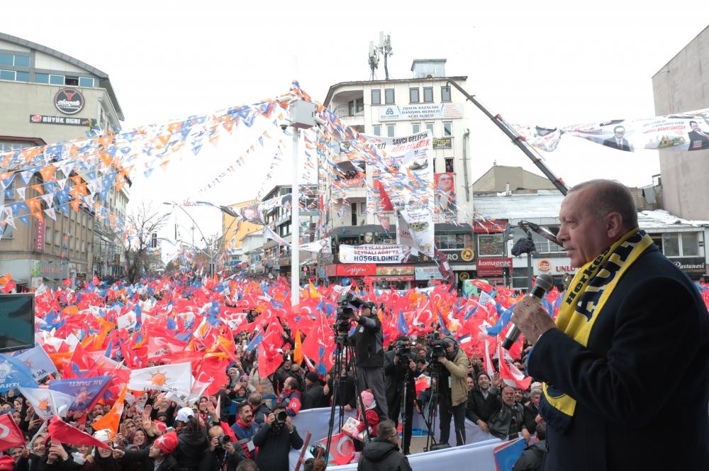 Cumhurbaşkanı Erdoğan Ağrı'da galerisi resim 1