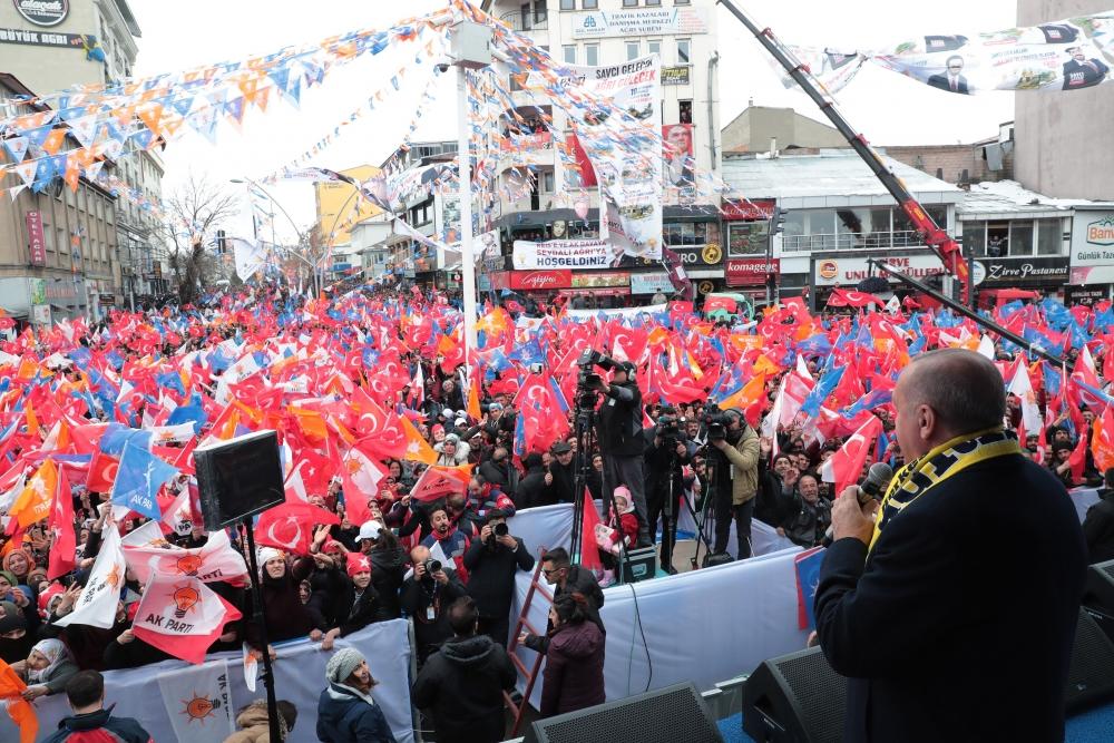 Cumhurbaşkanı Erdoğan Ağrı'da galerisi resim 2