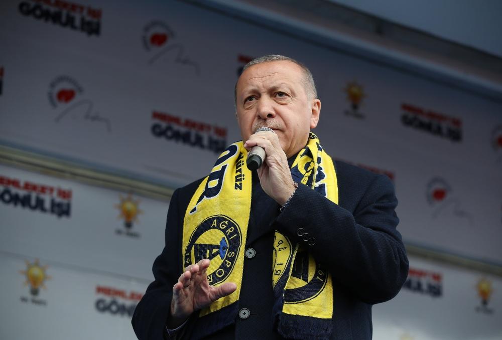 Cumhurbaşkanı Erdoğan Ağrı'da galerisi resim 8