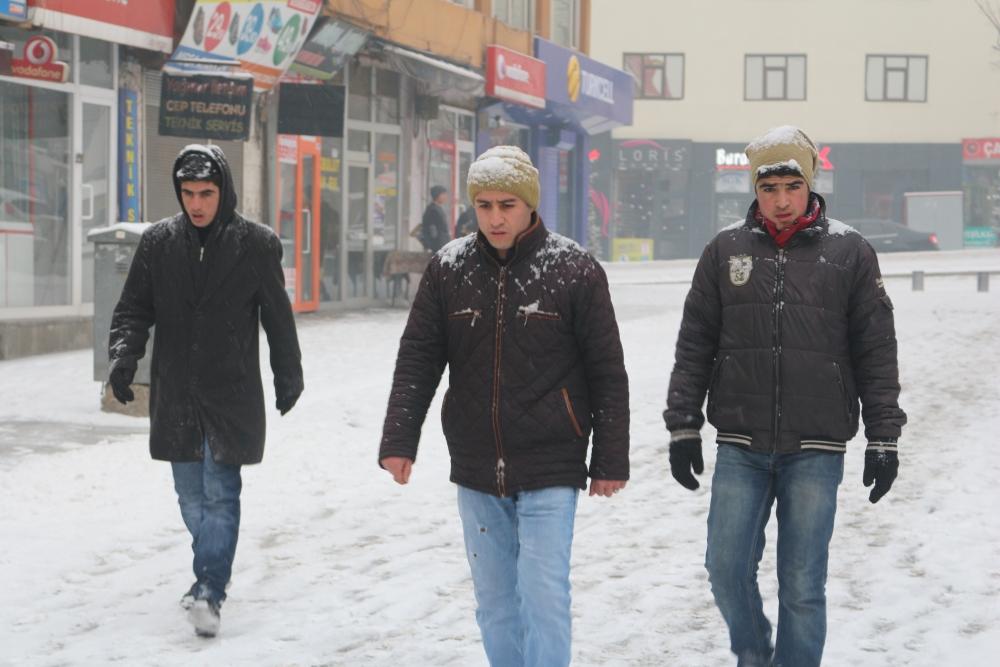 Ağrı'da kar manzaraları galerisi resim 1
