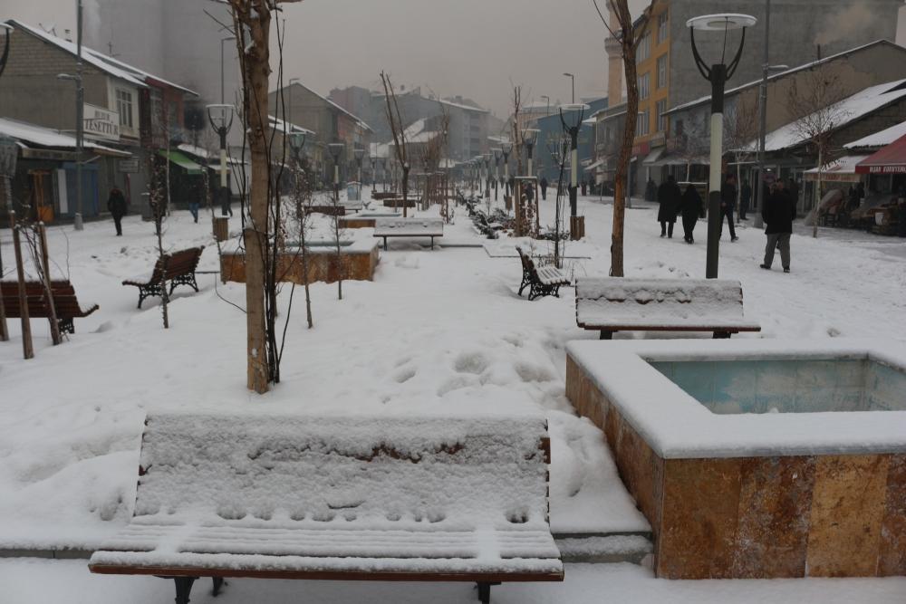 Ağrı'da kar manzaraları galerisi resim 10