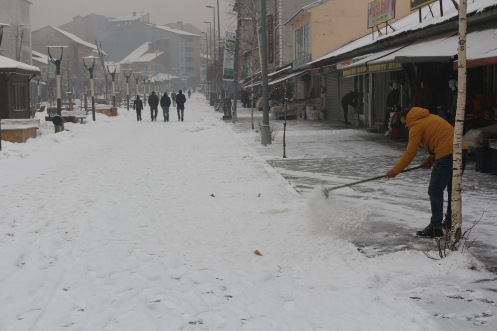 Ağrı'da kar manzaraları galerisi resim 11