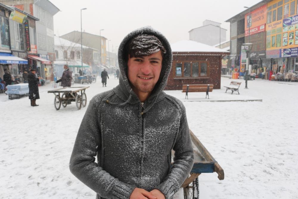 Ağrı'da kar manzaraları galerisi resim 2