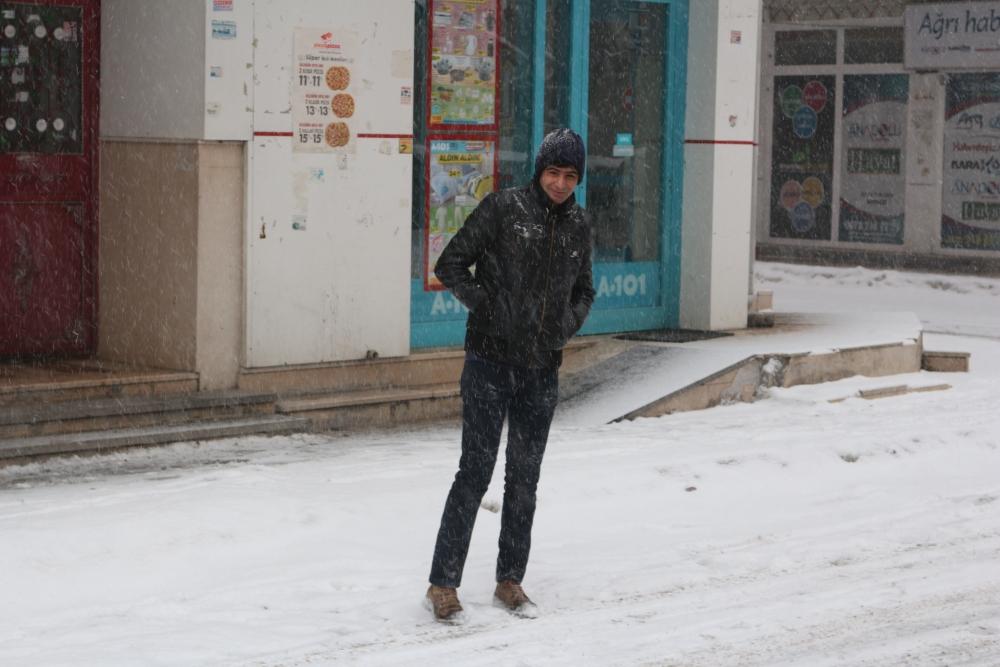 Ağrı'da kar manzaraları galerisi resim 3