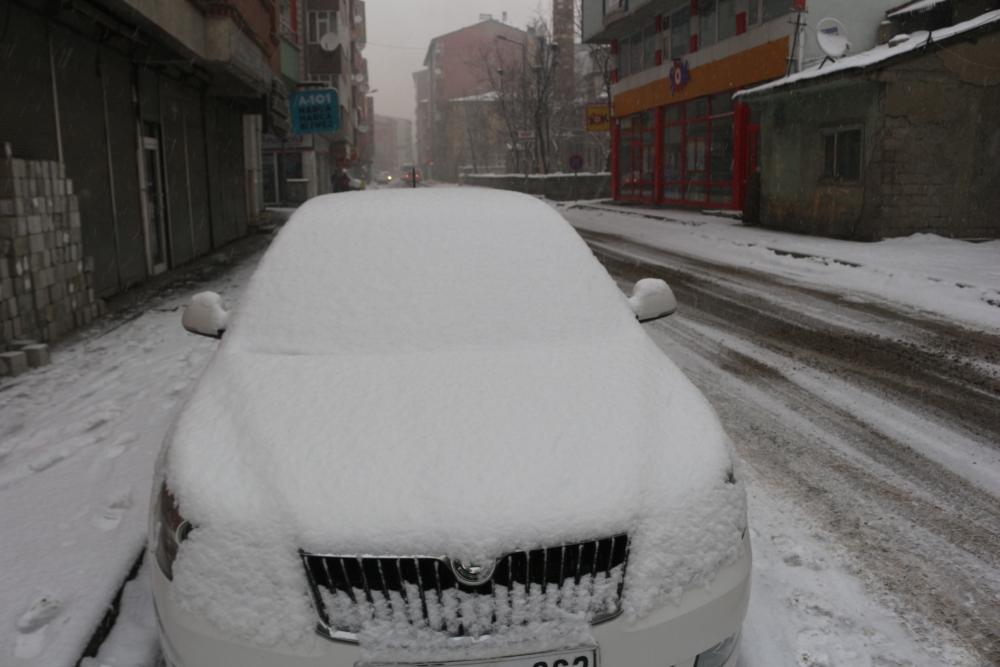 Ağrı'da kar manzaraları galerisi resim 4