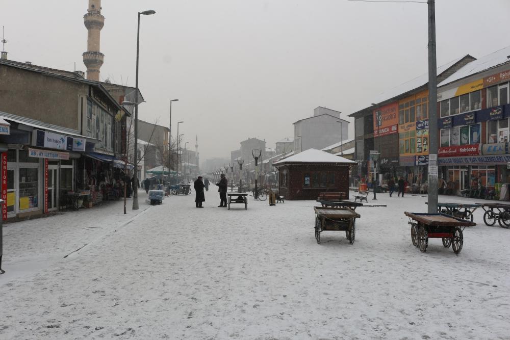 Ağrı'da kar manzaraları galerisi resim 5
