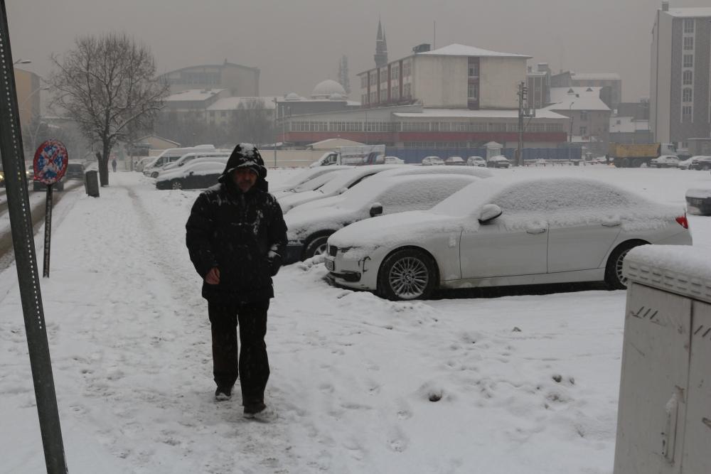 Ağrı'da kar manzaraları galerisi resim 6