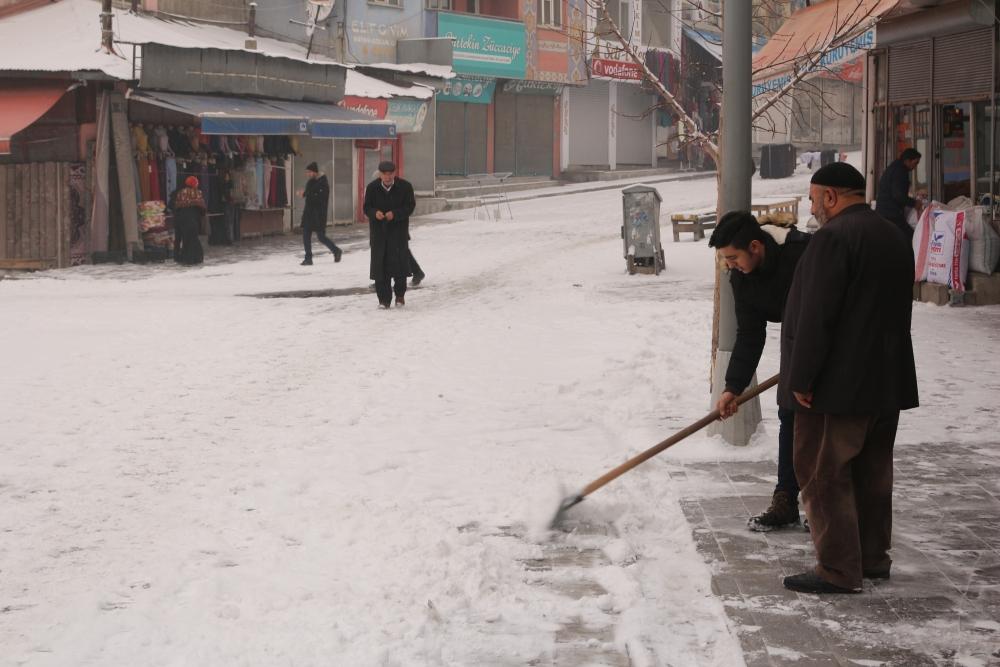 Ağrı'da kar manzaraları galerisi resim 7