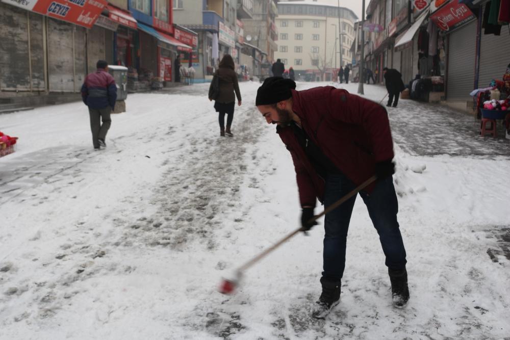 Ağrı'da kar manzaraları galerisi resim 8