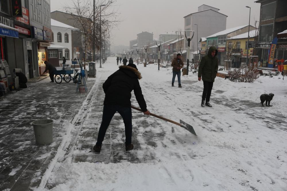 Ağrı'da kar manzaraları galerisi resim 9