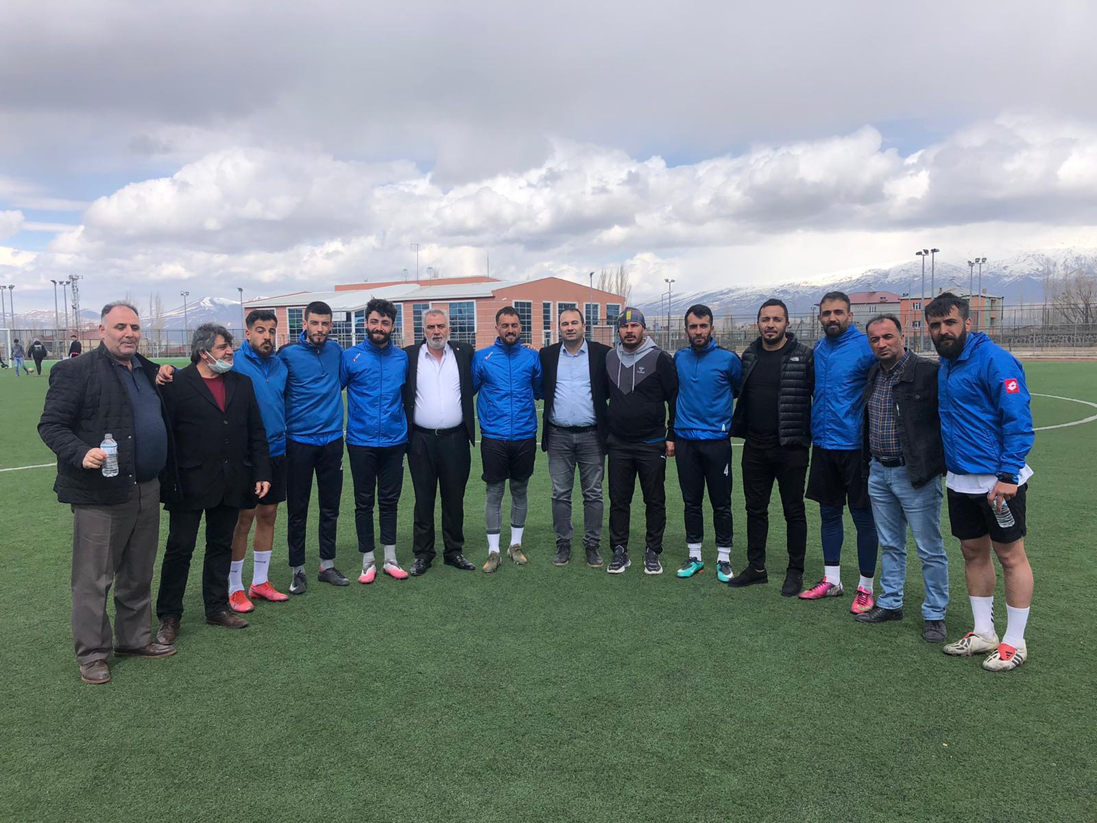 ASKF'den Doğubayazıt Belediye Spor'a ziyaret
