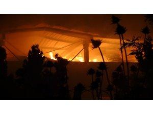 Kırklareli'nde çiftlik yangını