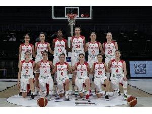 A Milli Kadın Basketbol Takımı, 2021 Avrupa Şampiyonası'nda parkeye çıkıyor