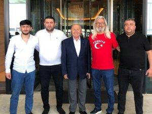 Azeri ve Türk tribün liderleri, A Milli Takım için bir araya geldi