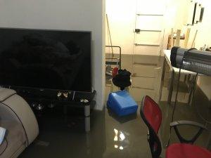 Kadıköy'de sağanak nedeniyle 3 evi su bastı