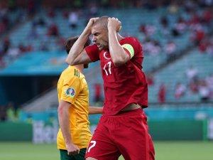 EURO 2020 Avrupa Şampiyonası: Türkiye: 0 - Galler: 1 (İlk yarı)