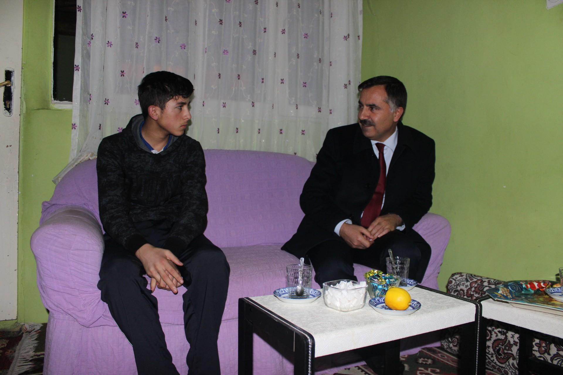 İl Başkanı Aydın, ziyaretlerine devam ediyor