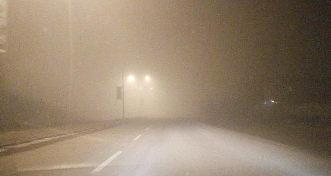 Doğubayazıt'ta sis etkili olu