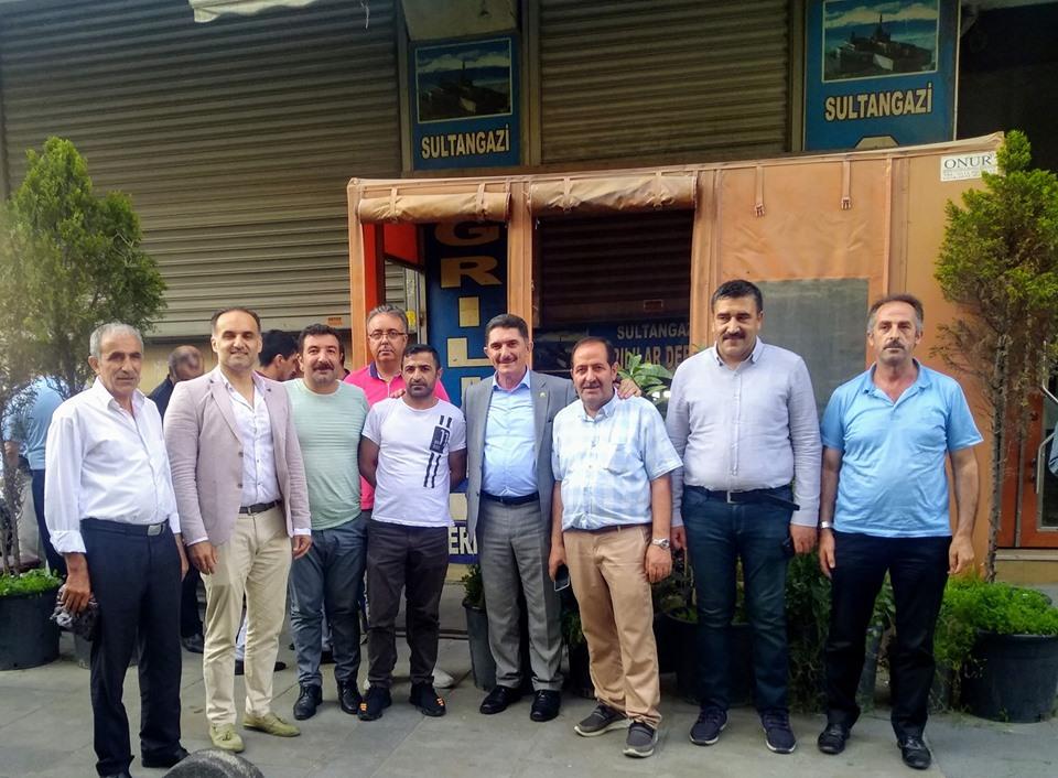 Milletvekili Çelebi İstanbul'da Ağrılılar ile buluşuyor