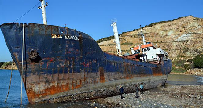 İzmir Aliağa İlçesinde Karaya Oturan Gemi Neden Kurtarılamadı ?
