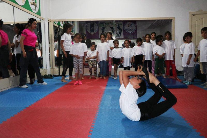 Ağrı'da Yaz Spor Okullarına Yoğun İlgi
