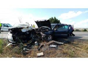 Tekirdağ'da zincirleme kaza: 4 yaralı
