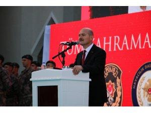 """İçişleri Bakanı Soylu: """"O gecenin hainleri, bugün hala mahkemede ileri geri konuşuyorlar"""""""