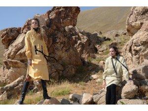 Terörden temizlenen yaylalarda moda rüzgarı esti