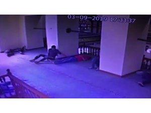 ırsız, camide uyuyan vatandaşı kendisine hedef seçti