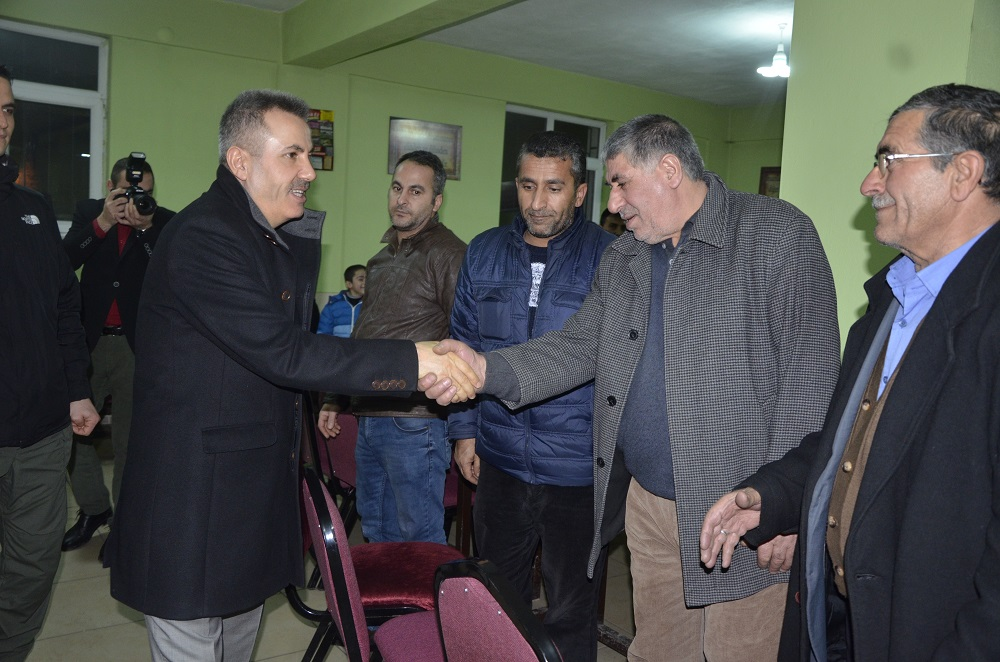 Vali Elban ziyaretlerine devam ediyor