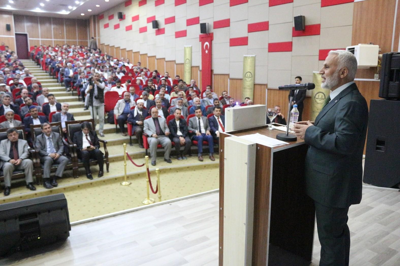 Ağrı'da 'Cami ve Hayat' konulu konferans