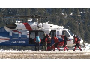 Kayıp dağcıları aramak için 40 kişilik özel tim görevlendirildi