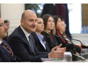 """Bakanı Soylu: """"Bu yıl 318 kadın cinayeti mağduru var''"""