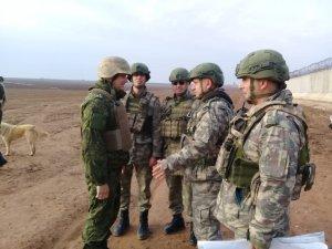 Fırat'ın doğusunda 15. kara devriyesi tamamlandı