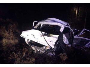 Afyonkarahisar'da feci kaza: 4 ölü