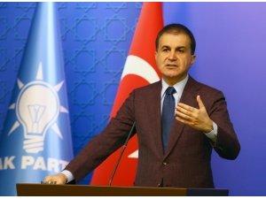 AK Parti Sözcüsü Çelik'ten ABD Senatosu'nun 'Ermeni' kararına tepki
