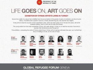 Küresel Mülteci Forumu'nda Türkiye'den sergi ve konser