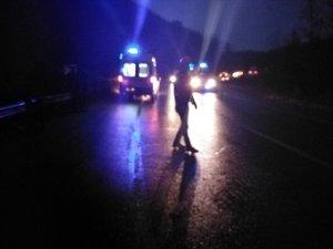 D140 karayolunda kaza: 4 yaralı