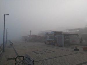 Çanakkale Boğazı'nda feribot seferlerine sis engeli