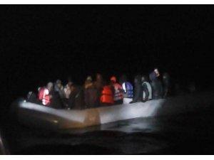Ayvalık'ta 9 Somalili göçmen yakalandı