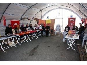 HDP önündeki evlat nöbeti 106. gününde