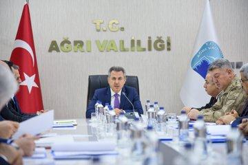 Ağrı'da kadına yönelik şiddetle mücadele koordinasyon planı toplantısı yapıldı