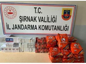 Şırnak'ta kaçakçılık ve terörle mücadele operasyonu: 63 gözaltı