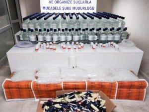 Yılbaşı öncesinde 368 litre etil alkol ele geçirildi