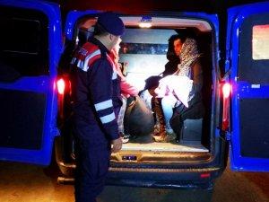 İzmir'de 132 düzensiz göçmen yakalandı