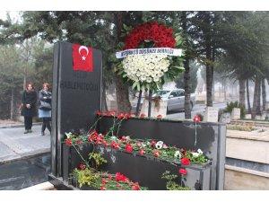 Necip Hablemitoğlu ölümünün 17. yılında mezarı başında anıldı