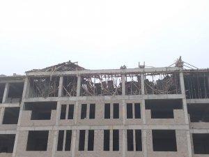 Ankara'da ilkokul inşaatı çöktü: 1 ölü, 1 yaralı