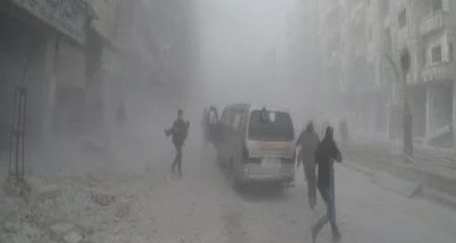Doğu Guta'da bombardıman 50 ölü